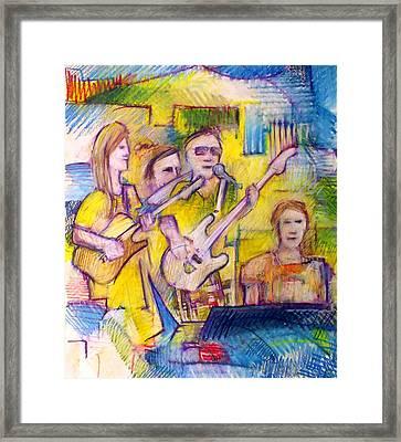Spc Musicians Framed Print by Gordon Swanson