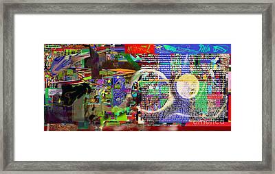 Speak To Hashem Framed Print by David Baruch Wolk