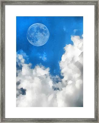 Speak To The Sky Framed Print