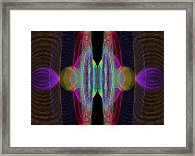 Speakers Framed Print