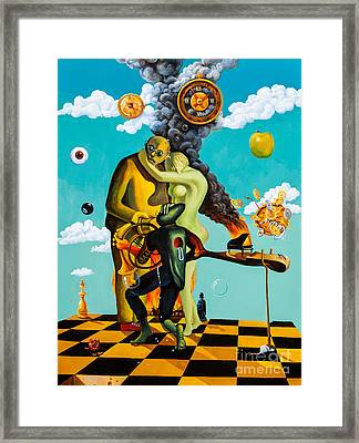 Speaking About Dali Framed Print