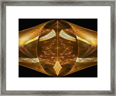 Spear Of Destiny Framed Print by Lea Wiggins