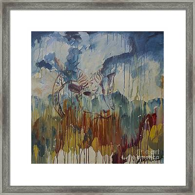 Spearfish Canyon Framed Print by Avonelle Kelsey