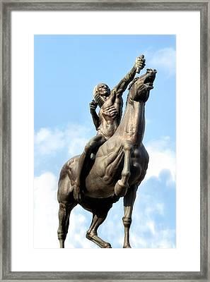 Spearman Framed Print by James Stough
