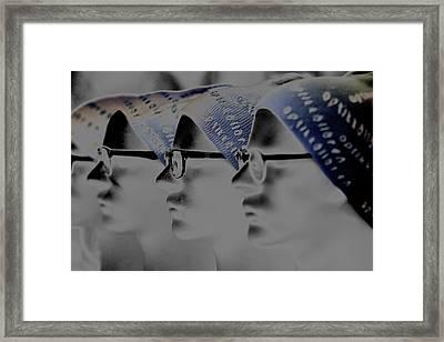 Spec Glasses  Framed Print by Tommytechno Sweden