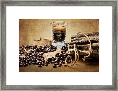 Special Blend Coffee I Framed Print