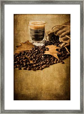 Special Blend Coffee IIi Framed Print