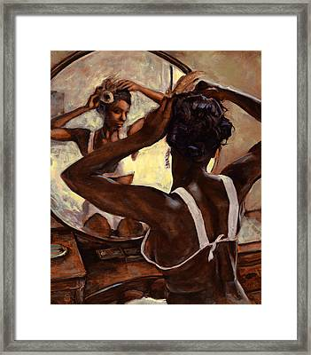 Special Care Framed Print by Michael Orwick