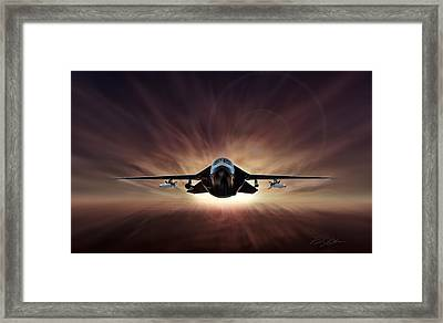 Special Delivery F-111 Framed Print by Peter Chilelli