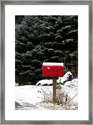 Special Delivery Framed Print by Karen Lee Ensley