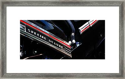 Special Deluxe 14780 Framed Print