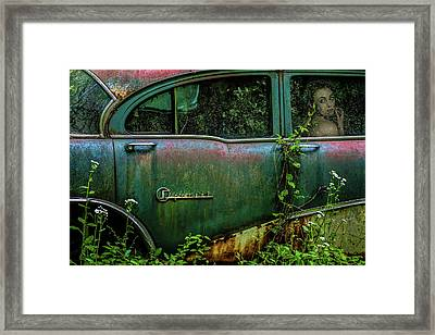 Special Girl Framed Print by Tony Mearman