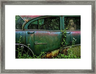 Special Girl Framed Print