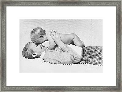 Special Moments Framed Print by Suzanne Szasz