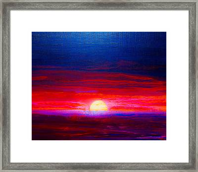 Special Sunset 2008 Framed Print
