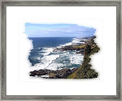Spectacular Oregon Framed Print by Will Borden