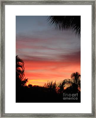 Spectacular Sky View Framed Print