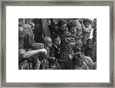 Spectators Framed Print