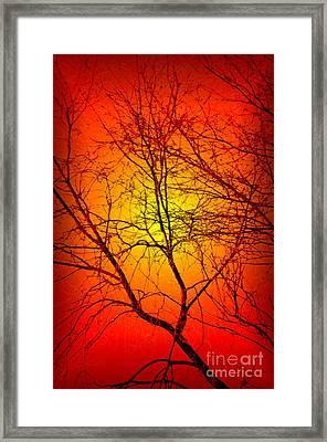 Spectral Sunrise Framed Print
