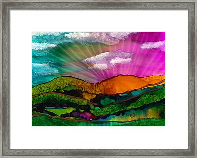 Spectrum Of Hope Framed Print
