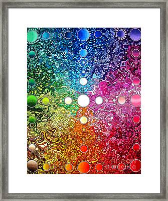 Spectrum Original Framed Print by Devin  Cogger
