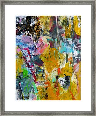Framed Print featuring the painting Speechless by Katie Black