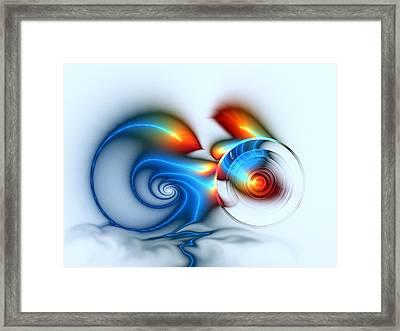 Speed Framed Print by Anastasiya Malakhova