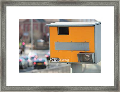 Speed Camera Framed Print by Ashley Cooper