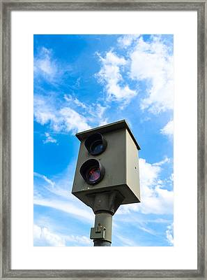 Speed Camera Framed Print