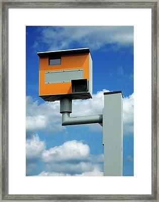 Speed Camera Framed Print by Mark Sykes
