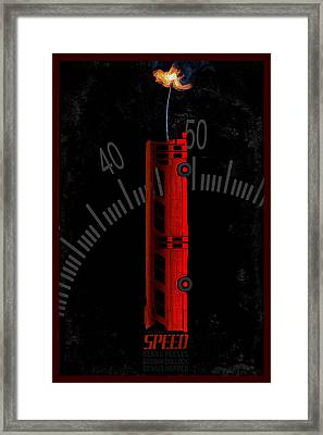 Speed Framed Print