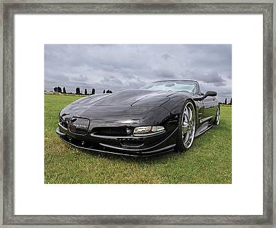 Speed Framed Print by Gill Billington