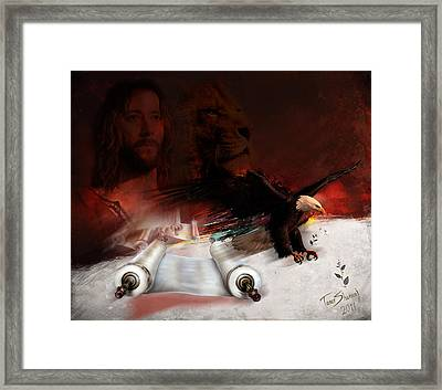 Speed In The Spirit Framed Print