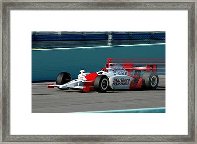 Speed Indy Framed Print by Kevin Cable