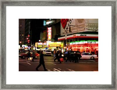 Speed Framed Print by Joann Vitali