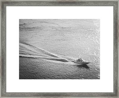 Speed Framed Print by John Rossman