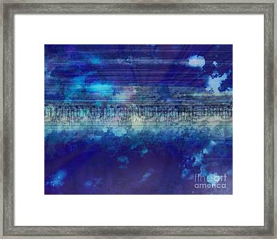 Speed Of Thought Framed Print by Bedros Awak