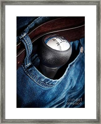 Speed Pocket Framed Print
