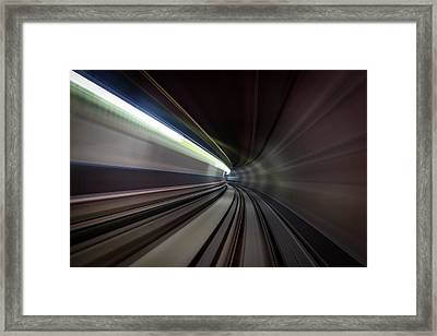 Speed Sensation Framed Print