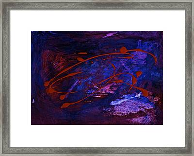 Framed Print featuring the painting Speed by Tracey Myers