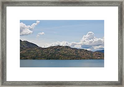 Framed Print featuring the photograph Speeding Along by Trever Miller