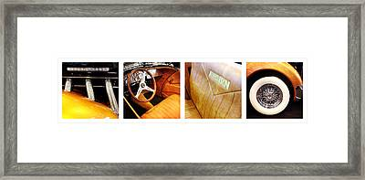 Speedster Framed Print by Les Cunliffe