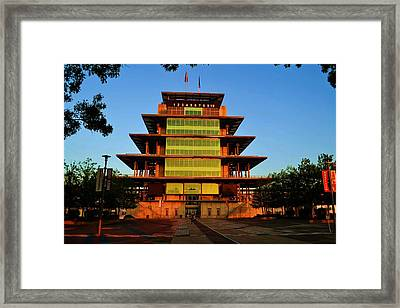 Speedway Bagota At Sunrise Framed Print