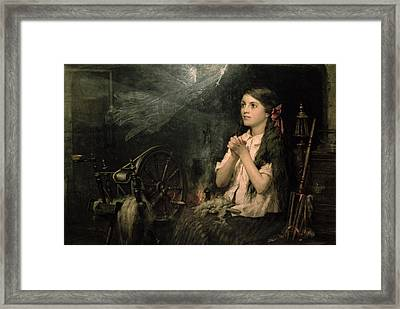 Spellbound Framed Print by Frederick George Cotman