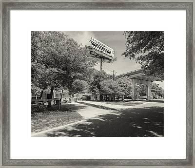 Spencer Farlow Drive Image Art Framed Print