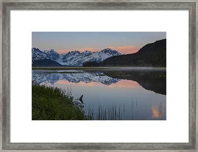Spencer Galcier Sunrise Framed Print by Tim Grams
