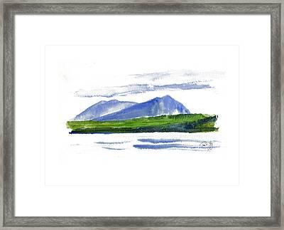 Spencer Mountain Framed Print