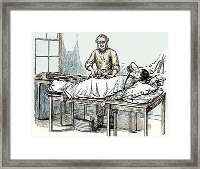 Spencer Wells Framed Print