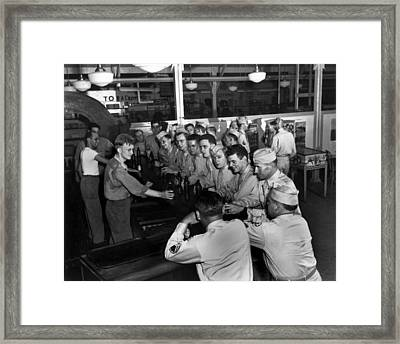 Spending Time At The Px Framed Print by Mountain Dreams