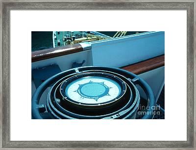 Sperry Gyrocompass Framed Print